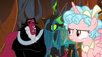 "Lord Tirek ""that was unexpected"" S9E24"