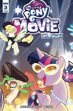 MLP The Movie Prequel issue 3 sub cover