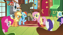 Main five and animals listen to Fluttershy S7E5