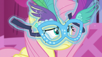 Mask floating in front of Fluttershy's face S5E21