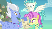 Ocean Flow signs Silverstream's permission slip S9E3