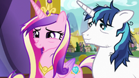 "Princess Cadance ""hope you're not too busy"" S7E3"