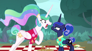 Princess Celestia gets mad at Luna S9E13