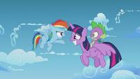 "Rainbow Dash ""you're a full-grown pony"" S5E25"