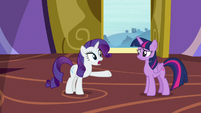 "Rarity ""they were!"" S9E19"