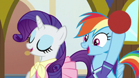 Rarity and Dash suggest different activities S8E17