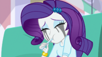 Rarity eats another spoonful of ice cream EGS1