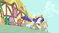 Rarity galloping away S4E23