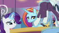 Rarity showing Sassy the new costumes S5E15.png