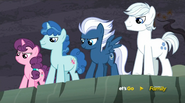 S05E02 Sugar Belle, Party Favor, Night Glider, Double Diamond