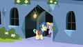 Sapphire Joy tips Mail Pony with a carrot S8E8.png