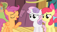 Scootaloo '...flying is the only way we're gonna win' S4E05