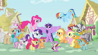 Supporting characters gather around Twilight S4 opening