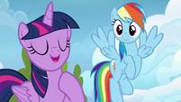 Twilight --your flying skills and my teaching expertise-- S6E24