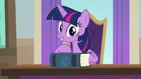 "Twilight Sparkle ""follows these rules"" S8E1"