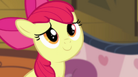 Apple Bloom pleased smile S4E09