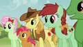Apple family agreeing with Granny Smith S3E8.png
