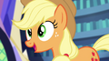 """Applejack """"we could join you this time around"""" EG2.png"""