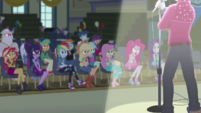 Equestria Girls listen to Flash Sentry EGDS50