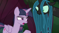"Fake Twilight Sparkle ""it is a big forest"" S8E13"