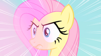 Fluttershy Stares at the bats intensely S4E07