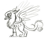 Gilda sketch by Lauren Faust