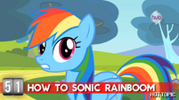 """Hot Minute with Rainbow Dash """"when you need to save your friends"""""""