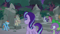 Images of Flash Magnus, Mistmane, and Somnambula appear S7E25