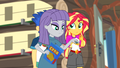 Maud Pie takes Boulder out of Sunset's hand EG4b.png