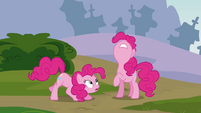 Pinkie Pie's duplicate 'I didn't make it' S3E03