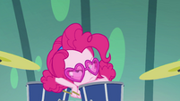 Pinkie Pie looking very peeved EGSB