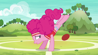 Pinkie Pie misses her ball kick S6E18