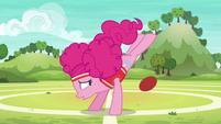 Pinkie Pie misses her ball kick S6E18