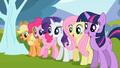 Ponies amazed by the butterfly's trick S02E07.png