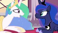 """Princess Celestia """"only because you were here"""" S7E10"""