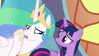 Princess Celestia -our world will be at war!- S8E2
