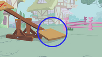 Rainbow Dash's standing spot S1E04