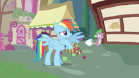 Rainbow Dash fine I guess S3E11