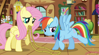 Rainbow Dash getting untied S03E13