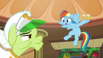 Rainbow keeps nachos away from Granny S8E5