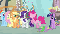 Rarity you okay Spike S3E4