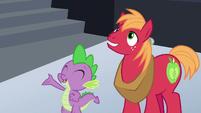 Spike --I hope you like awesome games!-- S6E17