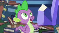 Spike -that is dragon culture- S8E24