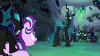 """Starlight Glimmer """"now he doesn't need to feed"""" S6E26"""