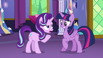 Starlight Glimmer --you did say anypony-- S6E6