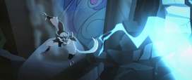 Storm King dodging bolts of lightning MLPTM