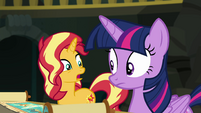 "Sunset Shimmer ""memories of me being nice"" EGFF"