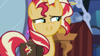 Sunset Shimmer -don't draw too much attention- EGS3