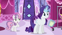 Sweetie Belle --you mean my hooves-- S6E14