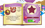 Traveling Mare album page MLP mobile game